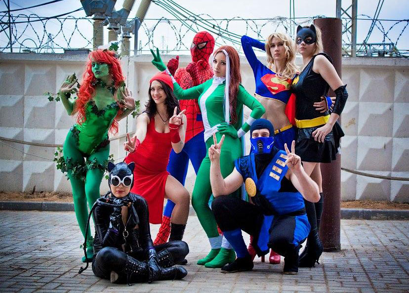 superhero cosplay costume