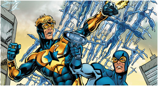 booster gold costumes